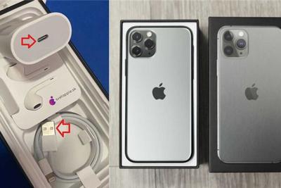 买iPhone 11 Pro Max 包装盒内却是iPhone 11数据线