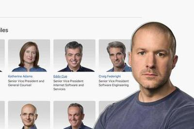 苹果首席设计师艾维正式离职 个人资料已从官网删除