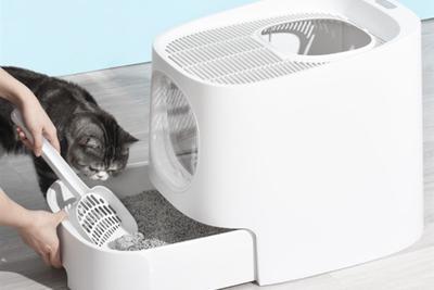小米有品众筹上架头等舱猫砂盆:号称五星级如厕仓