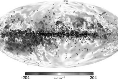 迄今最大三维银河系磁场图绘出