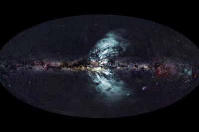 """宇宙中可能有""""裂缝"""":从地球上还无法观测到的宇宙弦"""