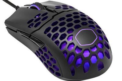 """酷冷至尊""""打洞""""鼠标RGB版本上架 重量为60g"""