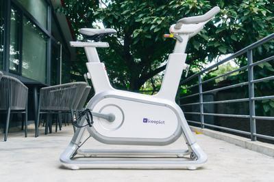 Keep动感单车体验:每天消耗250千卡 你就离瘦不远了