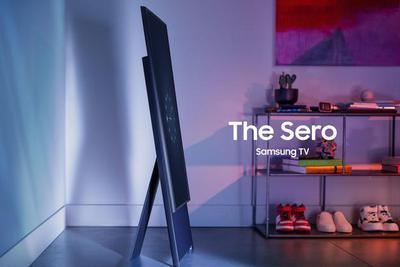 CES2020:三星新品横过来看视频 竖起来是放大版手机