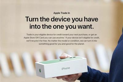 苹果下调二手iPhone、iPad、Mac的回收价格
