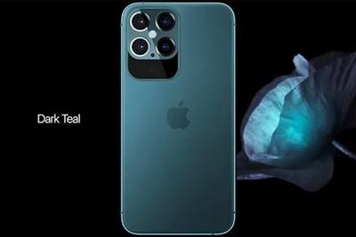 iPhone 12 Pro最新渲染图:五摄相机模组自带宽下巴