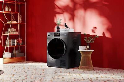 吉德双变频热泵干衣机评测:拯救潮湿衣物神器