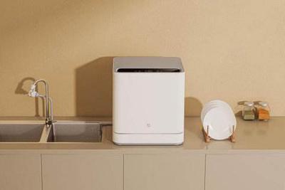 米家互联网洗碗机体验:安装方便 年轻人从此不用洗碗