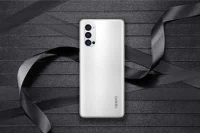 OPPO Reno4 Pro曝黑/白配色高清衬着图:后置三摄