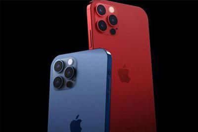 """iPhone 12Pro新配色渲染图 """"红蓝CP""""会不会出现呢?"""