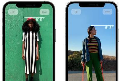苹果 iPhone 12 Pro 激光雷达扫描仪实用玩法:可即时测量身高