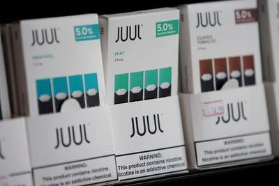 电子烟巨头Juul下调估值至100亿美元 较1月份腰斩