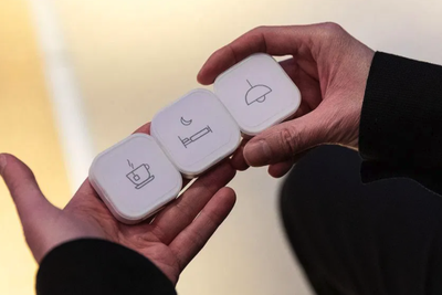 宜家跟苹果合作的智能家居快捷按键 终于要发售了