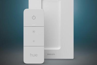 飞利浦Hue宣布推出新的墙壁开关模块调光开关和户外灯条