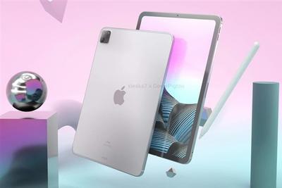 iPad Pro 2021款全新渲染图 两种尺寸硬件配置大幅升级