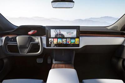 特斯拉更新Model S内饰:采用新触摸屏和跑车方向盘