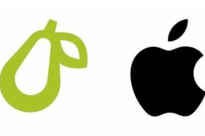 """苹果起诉""""梨商标""""侵权案和解:被告创业公司修改图案"""
