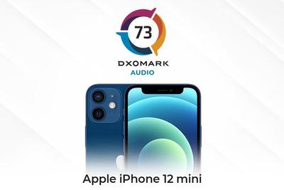 DXO公布iPhone 12 mini音频得分:73分 名列前十