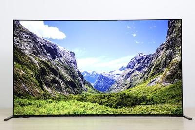 索尼画谛系列4K OLED智能电视A90J评测