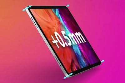 因采用Mini-LED显示屏,新12.9英寸iPad Pro比上代厚0.5毫米