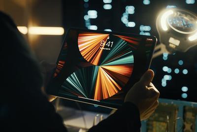 M1款iPad Pro将支持镜头位移 以保持人始终在画面中心