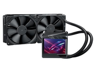 华硕推出ROG Ryujin II水冷散热器,配备3.5英寸大屏