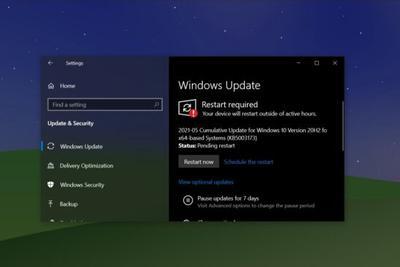 微软Win10 KB5003173累积更新发布:修复CPU占用率过高问题
