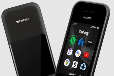 诺基亚海外发布2720 V Flip翻盖手机:支持4G及语音助手