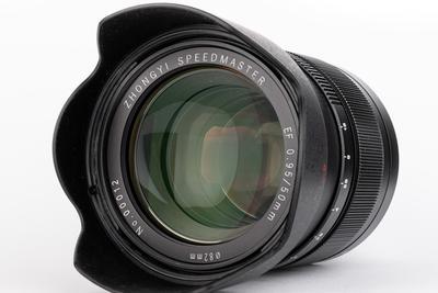 中一光学发布L卡口50mmF0.95镜头:国产自强