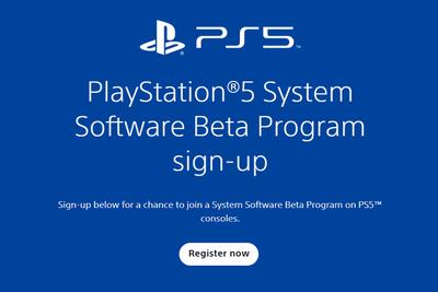 索尼邀请玩家参与首次PS5 Beta版系统测试