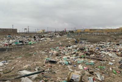 悲剧!青藏高原可可西里地区再现巨大露天垃圾带