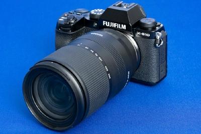 腾龙首款X卡口镜头外观曝光:18-300mm太强了