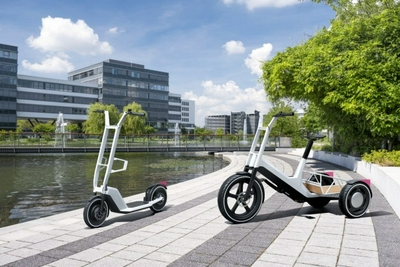 宝马设计两款新概念车 旨在实现城市内微出行电动化