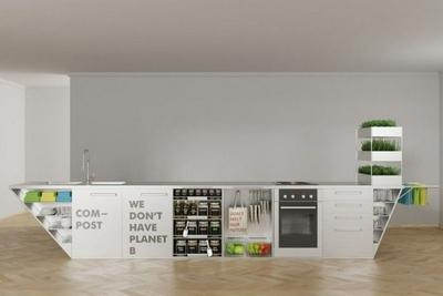 维也纳设计师Ivana Steiner设计出无废物厨房