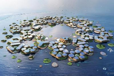 """人类水上""""漂浮城市""""的梦想能实现吗?"""