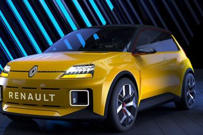 雷诺R5概念车亮相慕尼黑车展!复古和科技感我全都要