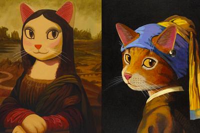 "HTC 将与日本插画家联合举办 VR 虚拟展览:""走入猫咪艺术"""