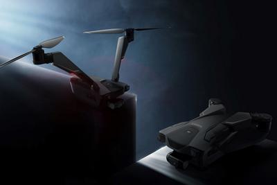零零科技推全球首款V型双旋翼无人机 续航长达50分钟