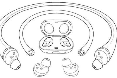 三星公布新专利,一条管子可让Galaxy Buds耳机在水下使用