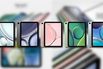 苹果iPad mini 6细节曝光:全面屏、双扬声器设计