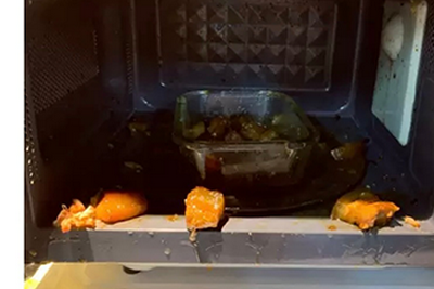不要用微波炉加热红烧肉!会让人变得不幸