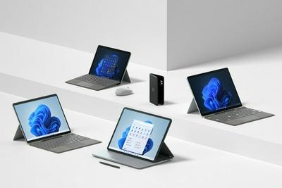 微软Surface全线升级:全新高端笔电亮相 终于抛弃跑马黑框