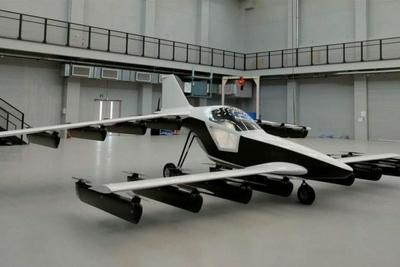 Tetra Mk-5单座eVTOL飞机正在加州进行飞行测试