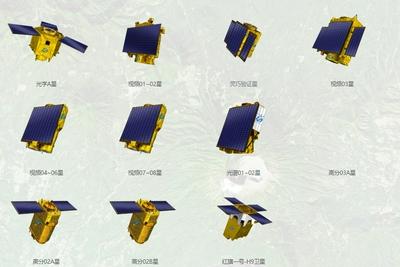 """""""吉林一号""""成为我国规模最大的商用遥感卫星星座"""