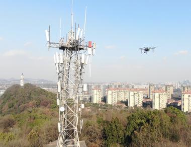 智能巡檢無人機 守護5G時代空中網絡資源