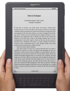 亚马逊推新Kindle :增加屏幕照明