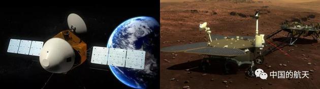 毅力号成功登陆火星,那天问一号呢?