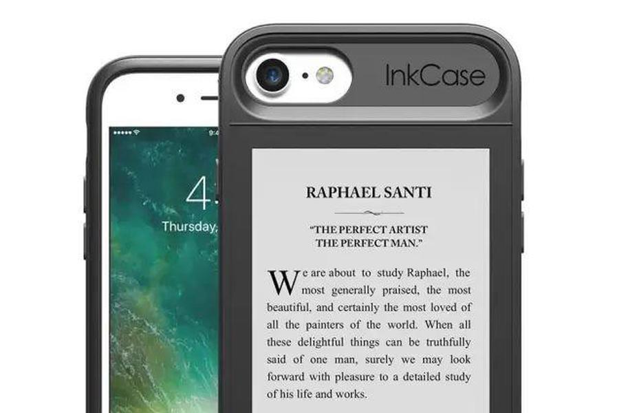 让iPhone拥有两个屏幕的手机壳 其中一面是Kindle