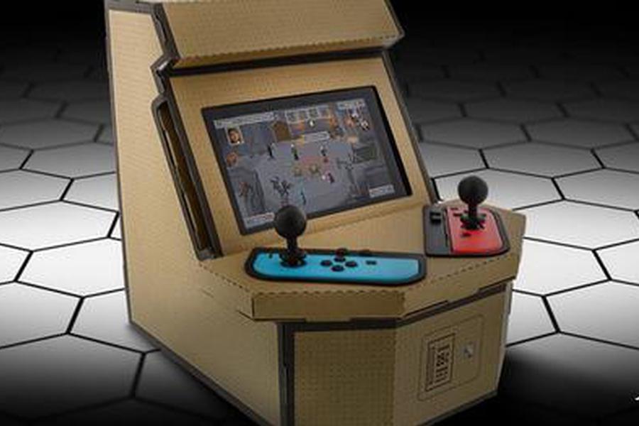 20美元纸板箱让任天堂Switch秒变迷你街机