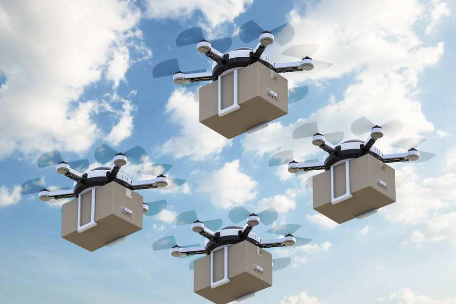 你飞我飞大家都要飞 索尼公布首款无人机专利